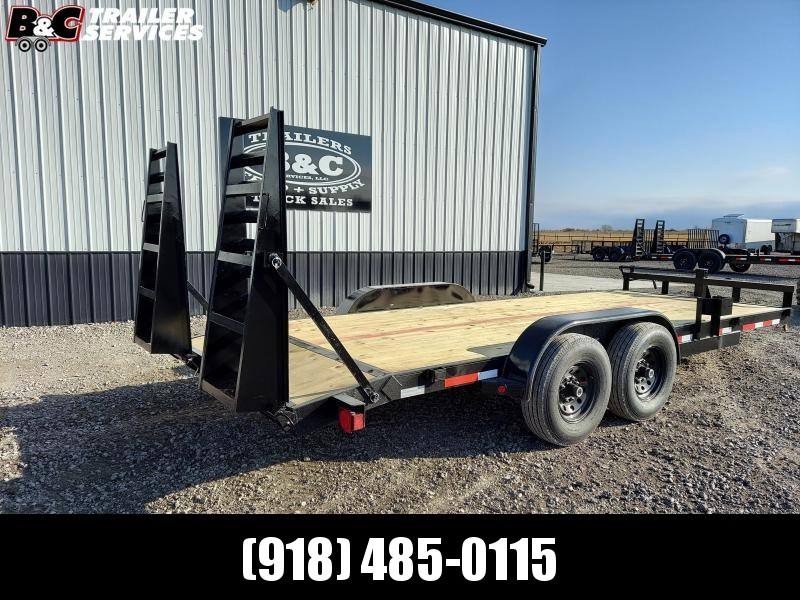 2021 Longhorn Trailers NEW LONGHORN 20' EQUIPMENT TRAILER Equipment Trailer