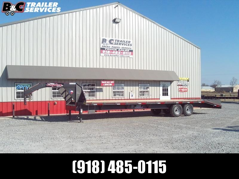 2020 Longhorn Trailers 20+5 GN Equipment Trailer