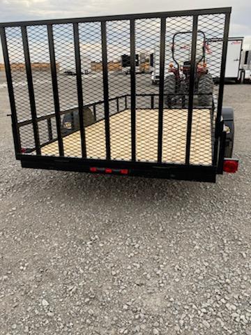 New 2020 Longhorn Trailers 77 X12 Utility Trailer w 4 Gate