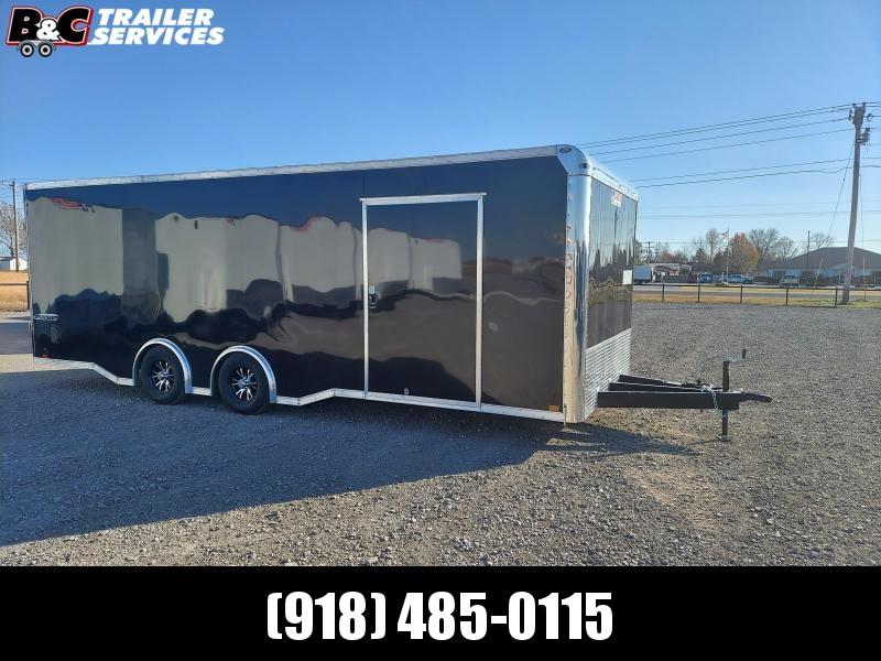 2021 Pace American 8.5x24 spread axle CAR HAULER \ ENCLOSED CARGO Enclosed Cargo Trailer