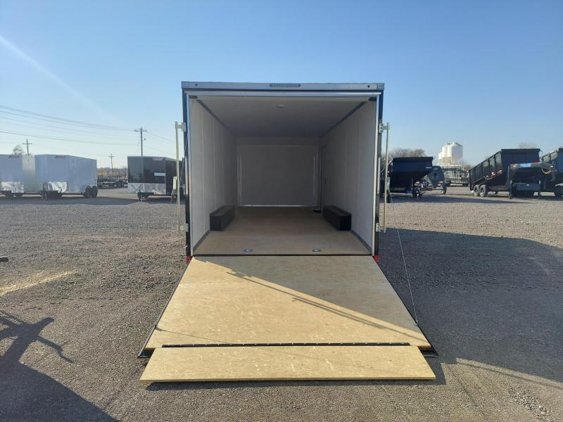 2021 Pace American 8.5x24 spread axle CAR HAULER \ ENCLOSED CARGO Enclosed Cargo Trailer