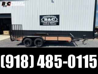 New Royalty 77x16 tandem axle utility trailer Utility Trailer