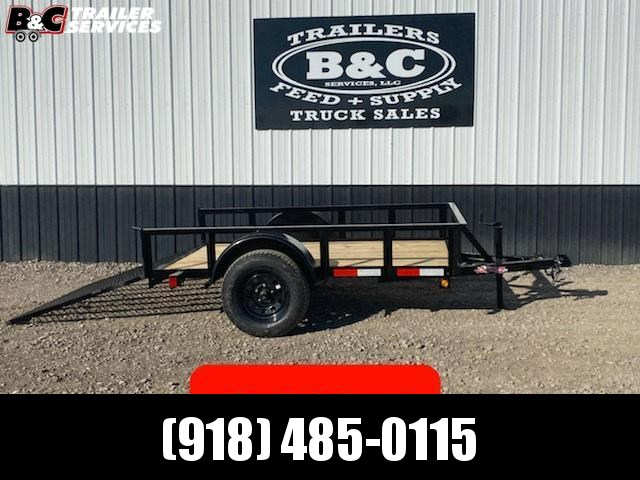 New 2020 Longhorn 5x8 Utility Trailer w\ 4' gate