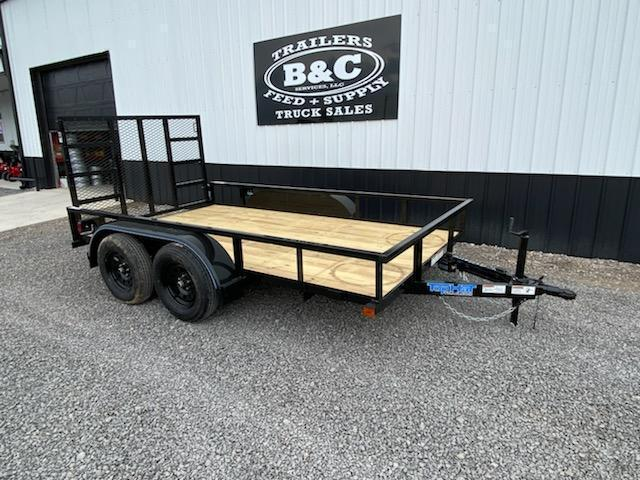 2021 Top Hat Trailers NEW 14X77 TANDEM AXLE UTILITY TRAILER Utility Trailer
