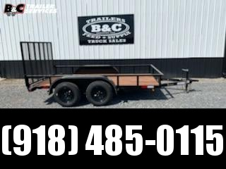 New Royalty 77x12 tandem axle utility trailer Utility Trailer