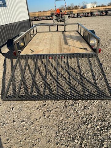 New 2020 Longhorn 5x8 Utility Trailer w\ 4' gate