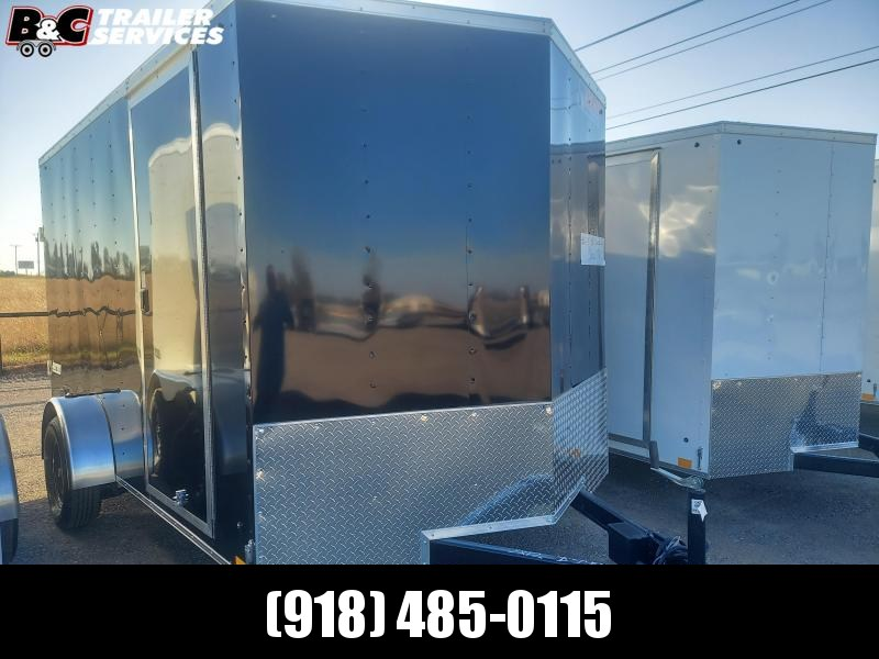 2021 Pace American NEW 2021 PACE AMERICAN7X12 SA ENCLOSED CARGO TRAILER