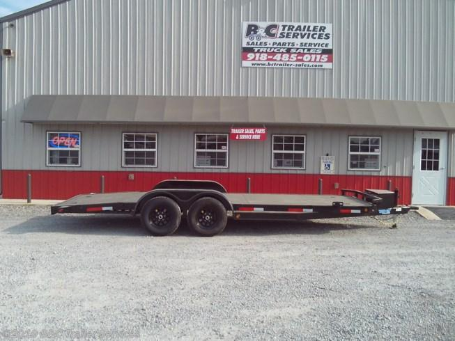 "New 2020 Top Hat 83""X20' Steel Floor Car Hauler 35003 axles"