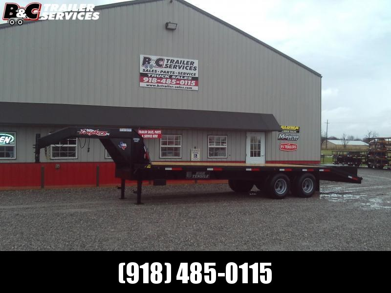 2020 Longhorn Trailers 20+5 TANDEM DUAL GOOSENECK EQUIPMENT Equipment Trailer