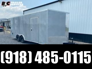 Pace American 2021 PACE AMERICAN 8.5X20 + V NOSE ENCLOSED CARGO \ CAR TRAILER Enclosed Cargo Trailer
