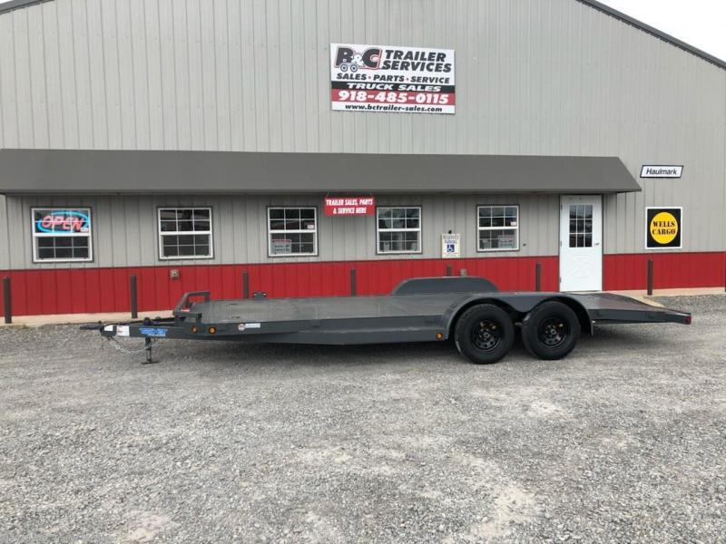 "New 2020 Top Hat 83""X20' All Steel Car Hauler 3500# Axles"