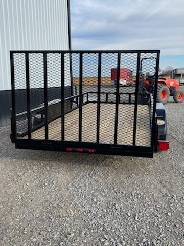 2020 Longhorn Trailers 77X18 4' GATE Utility Trailer