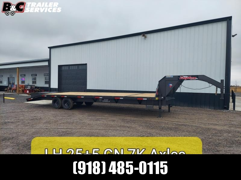 2020 Longhorn Trailers 25+5 GN Equipment Trailer