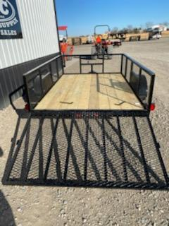 New 2020 Longhorn 77 X10 Utility Trailer w\ 4' Gate and 2' mesh sides