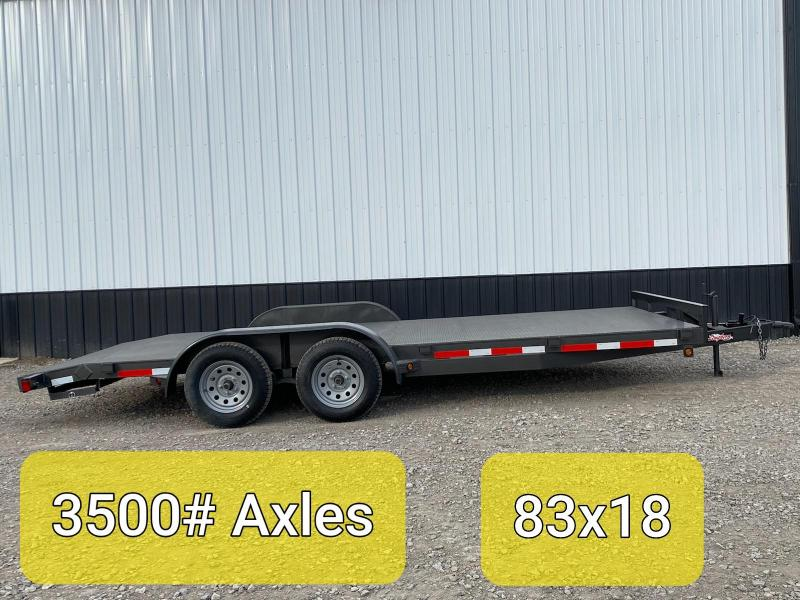 2020 Longhorn Trailers 18X83 STEEL CAR HAULER Car / Racing Trailer