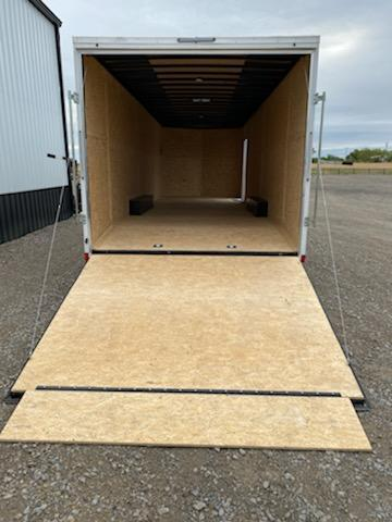 2022 Pace American NEW 2022 PACE AMERICAN 8.5X28 + V NOSE WITH 7000# AXLES Enclosed Cargo Trailer