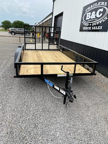 2021 Top Hat Trailers NEW 16X77 TANDEM AXLE UTILITY TRAILER Utility Trailer