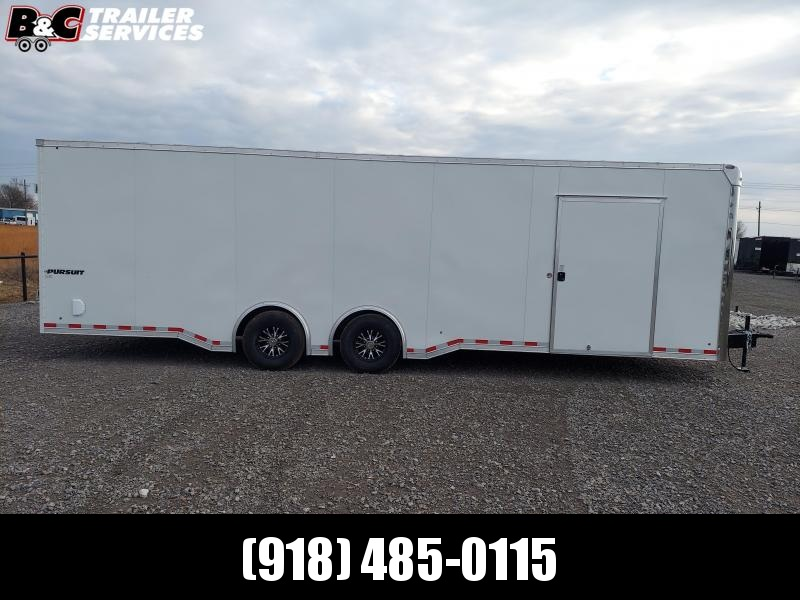 2021 Pace American 2021 PACE AMERICAN PURSUIT 8.5X28 Car / Racing Trailer