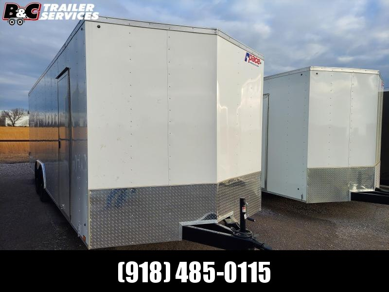8.5X24 + V NOSE ENCLOSED TRAILER