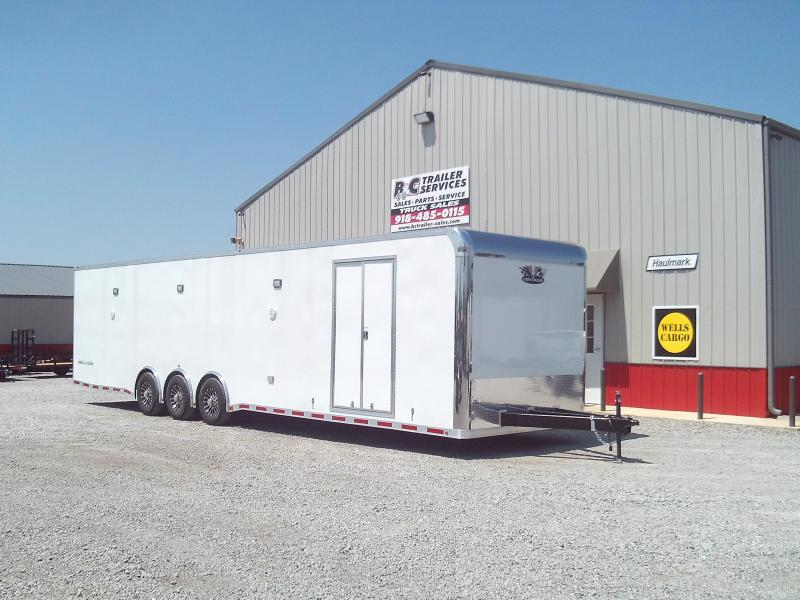 SAVE $3000.00 BELOW COST  AT THIS PRICE 2020 Vintage Trailers Outlaw 8.5X36 Triple 6000# Axles Car / Racing Trailer - ON SALE