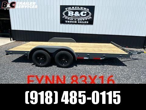 2021 Other NEW FYNN 16' FLAT DECK CAR \ EQUIPMENT TRAILER Equipment Trailer