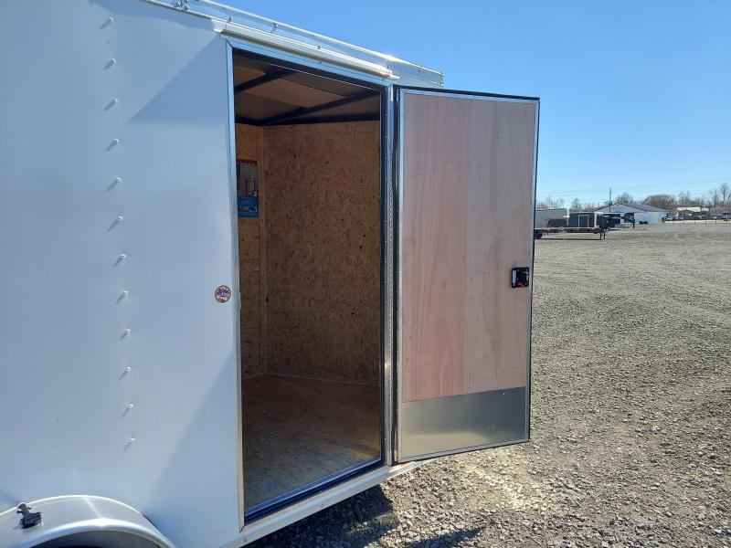 NEW Pace American PACE AMERICAN 6X10 SA ENCLOSED CARGO TRAILER W\ BARN DOORS