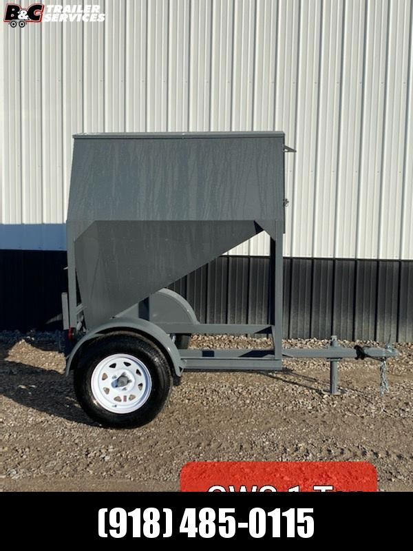 2021 GWS 1 TON PORTABLE FEED BUGGY