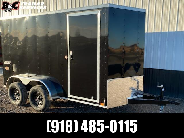 2021 Pace American NEW 2012 PANOSE ENCLCE AMERICAN 6X12 + V OSED CARGO TRAILER W\ BARN REAR DOORS