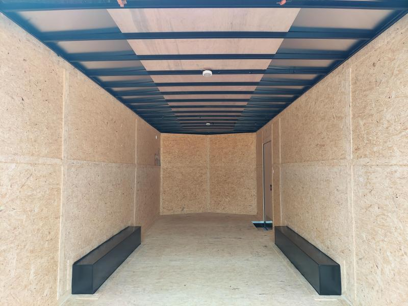 2021 Pace American 2021 PACE AMERICAN 8.5X20 + V NOSE ENCLOSED CARGO \ CAR TRAILER Enclosed Cargo Trailer