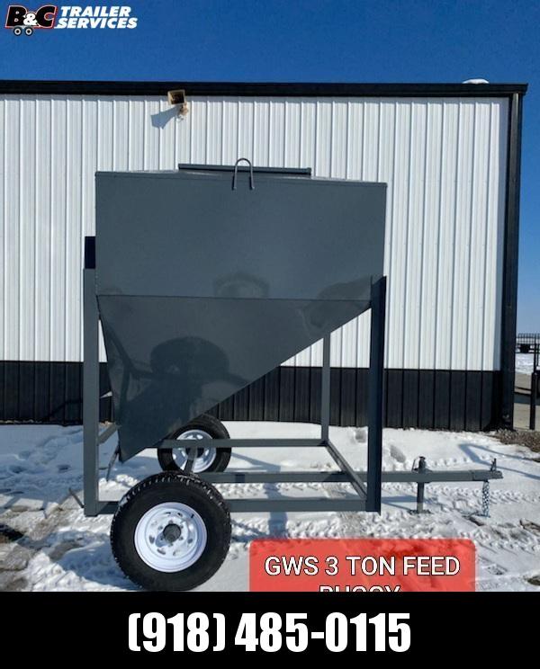 NEW GWS 3 Ton Feed Buggy
