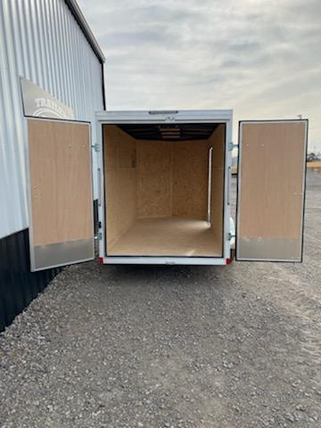 NEW Pace American PACE AMERICAN 6X12 SA ENCLOSED CARGO TRAILER WITH BARN DOORS