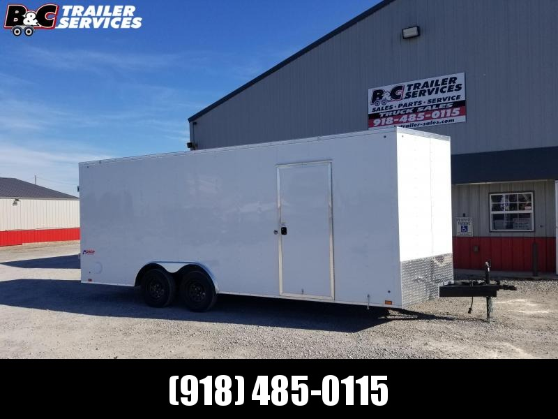 2021 Pace American 2021 PACE AMERICAN 8.5X22 V NOSE ENCLOSED CARGO \ CAR TRAILER Enclosed Cargo Trailer