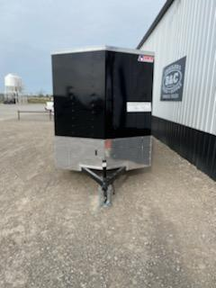 NEW Pace American PACE AMERICAN 6X12 SA ENCLOSED CARGO TRAILER WITH RAMP REAR DOOR