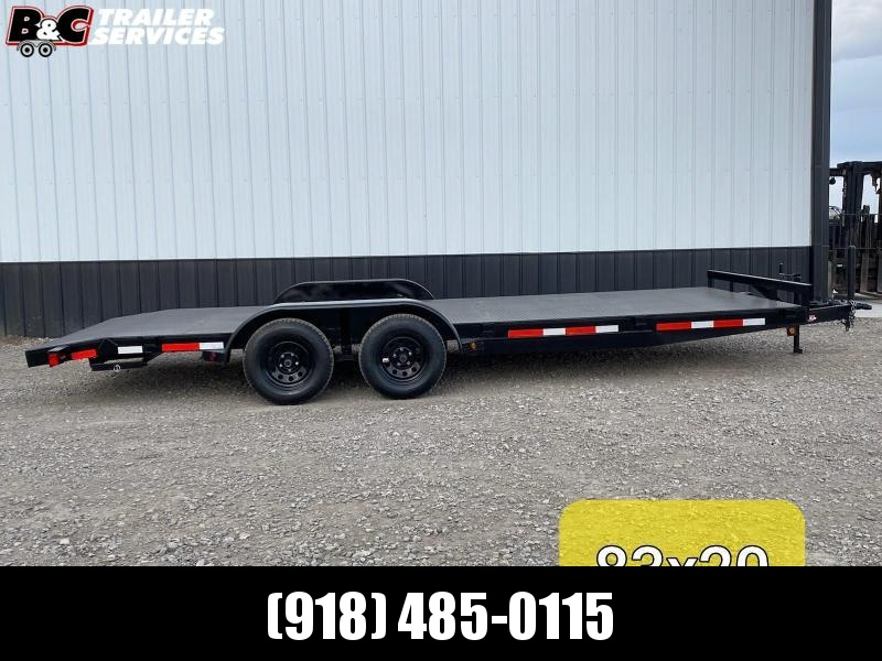 2020 Longhorn Trailers 20X83 STEEL CAR HAULER Car / Racing Trailer