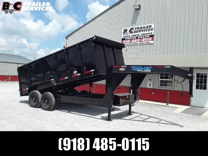 2020 Top Hat Trailers TOP HAT 7X14 GN DUMP TRAILER Equipment Trailer