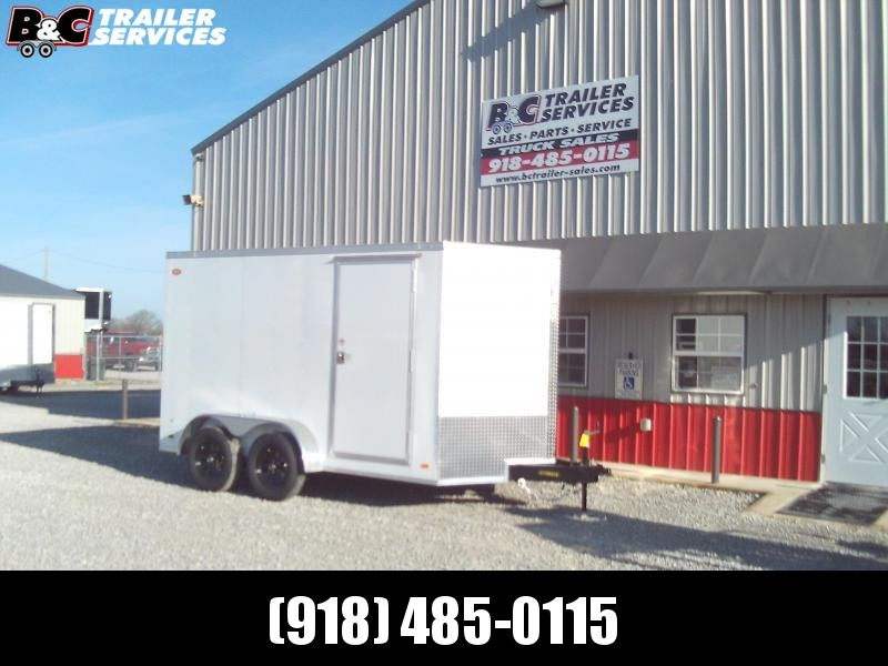 NEW 2021 PACE AMERICAN 7X16 + V NOSE w\ 7' interior height