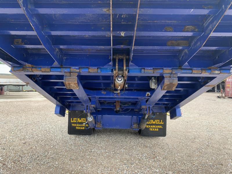 2012 Ledwell LW48HT Equipment Trailer Flat Bed