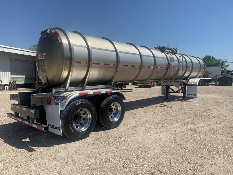 1999 Polar 6700 Gallon Stainless Steel Tank Trailer Tanker