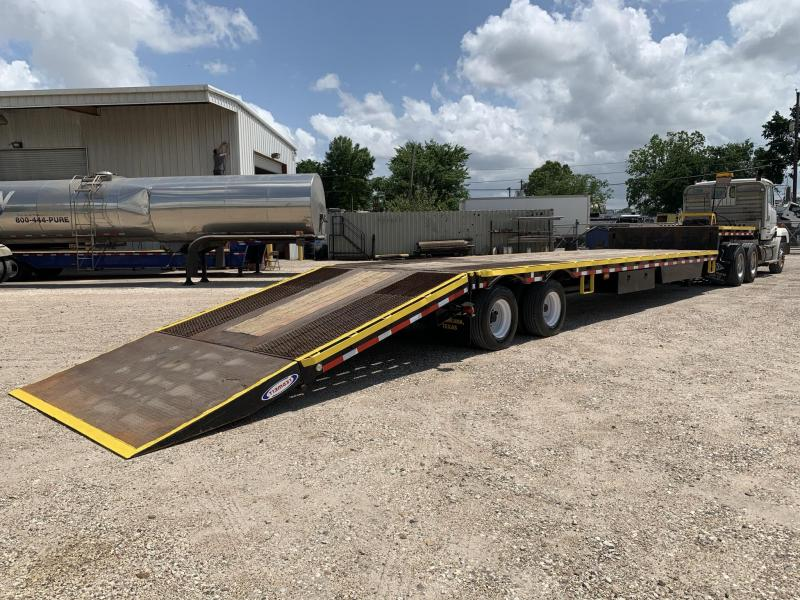 2012 Ledwell Hydraulic Tail Equipment Trailer Low Boy