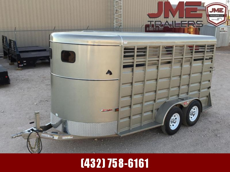"2021 GR Trailers 6'8""X16' Horse Trailer"
