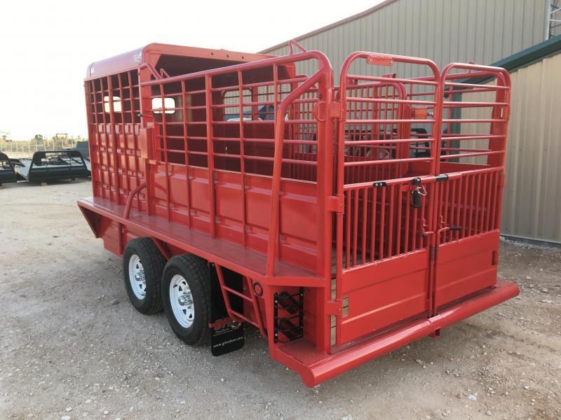 2022 GR Trailers 6'X16' 7K Livestock Trailer