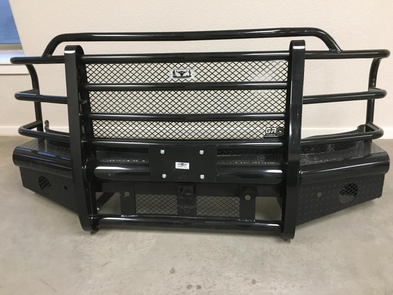 2021 GR Trailers 15-19 GR CHEVY Front Replacement Bumper Attachment