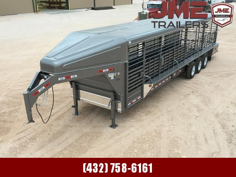 "2020 GR Trailers 6'8""X32' Stock / Stock Combo Trailer"