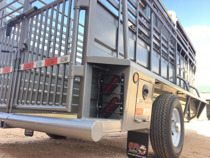 2020 GR Trailers 5'X16' Livestock Trailer