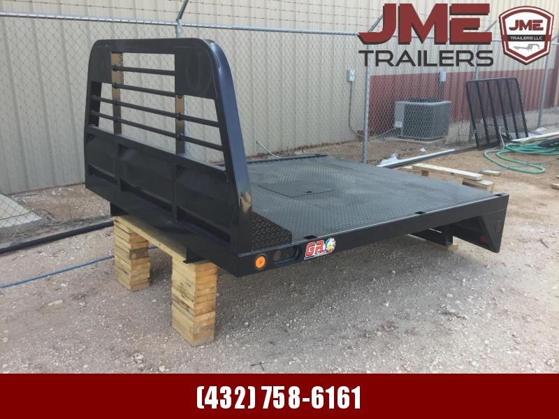 2021 GR Trailers SINGLE WHEEL LONG BED Truck Bed