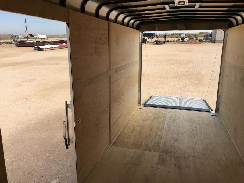 2020 GR Trailers 7'X16' Cargo / Enclosed Trailer