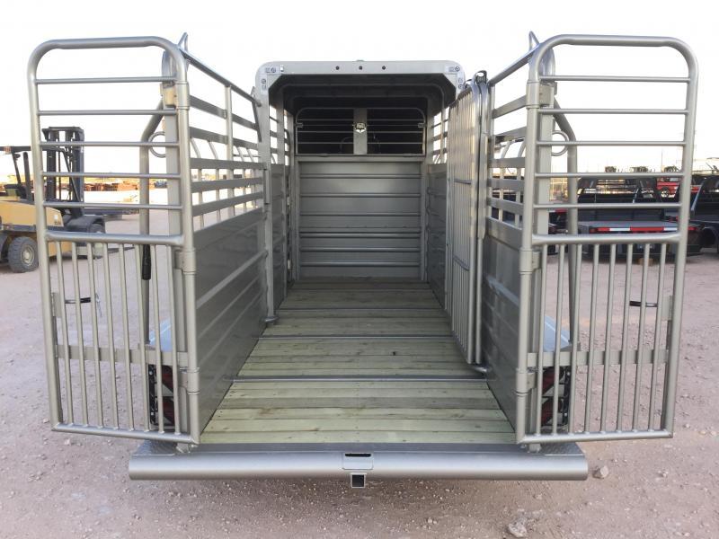 2021 GR Trailers 5'X16' 7K Livestock Trailer