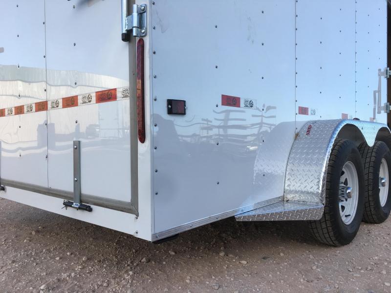 2021 GR Trailers 7'X16' 7K Enclosed Cargo Trailer