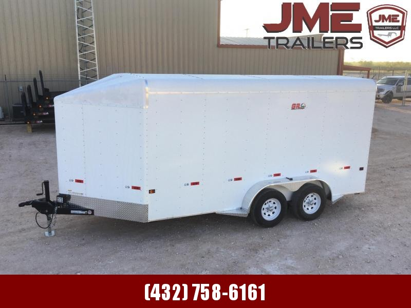 2021 GR Trailers 7'X16' 7K Enclosed Cargo Trailer
