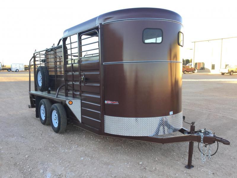 2021 GR Trailers 6'X16' 7K Livestock Trailer